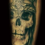 Skeleton Warrior tattoo