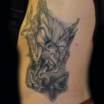 drake spike tattoo